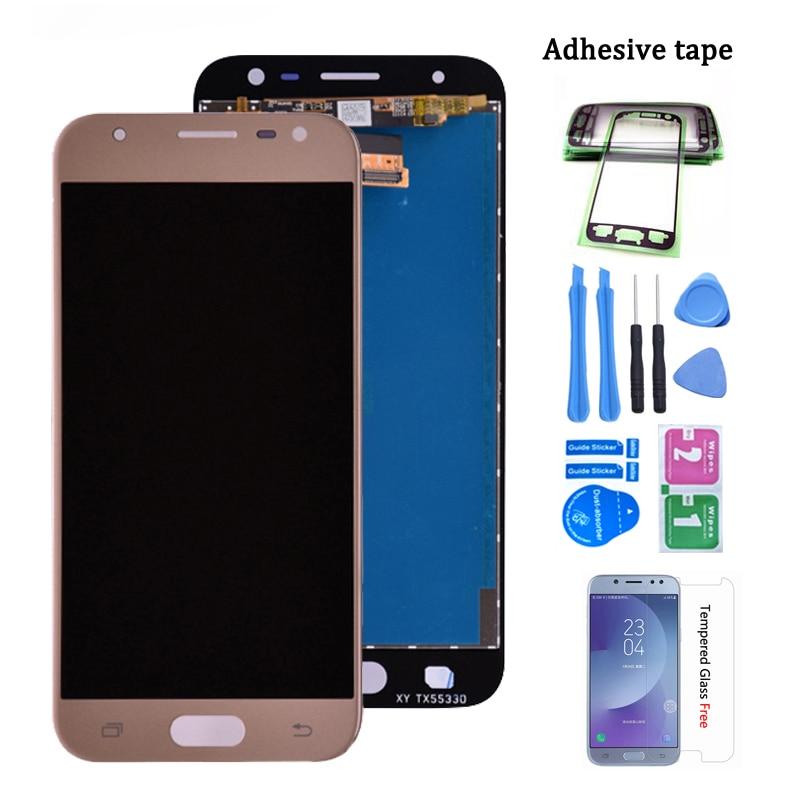 Original J330 LCD For Samsung Galaxy J3 2017 J330 J330F/DS J330G/DS LCD Display Touch Screen Digitizer Assembly J3 2017 dual sim