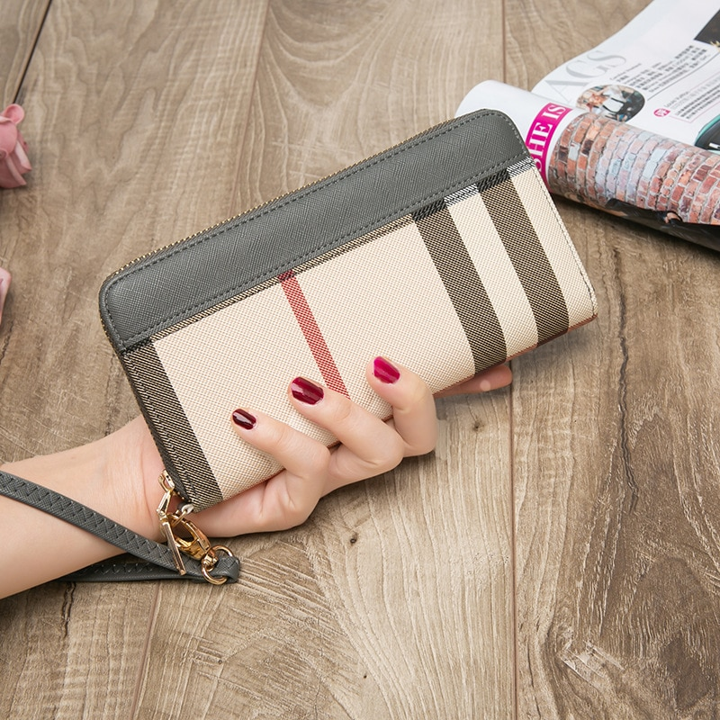 Women's Wallet and Purse Lady's Wallets Small Short Clutch Coin Purse Luxury Female Luxury Purses Long Card Holder