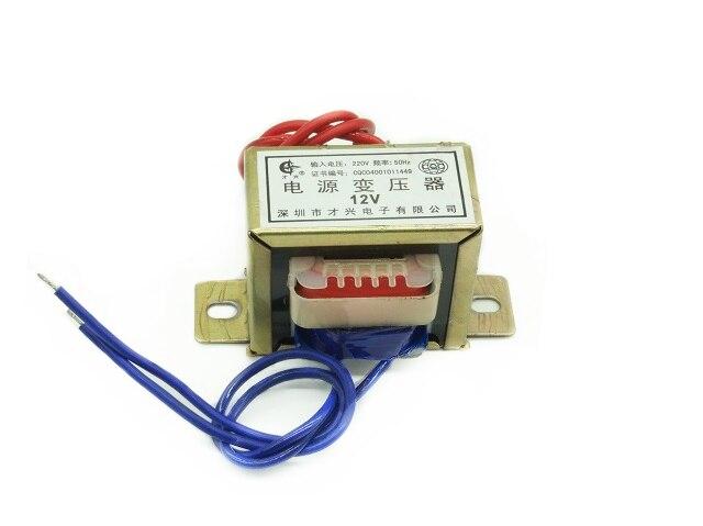 AC 6V 9V 12V 15V 18V 24V 30V Ausgang Spannung 8W EI kupfer core Eingang 220V 50Hz ~ 60Hz Single/dual spannung Kupfer power transformator