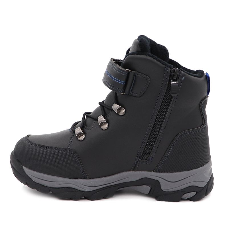 Children Snow Boots Popular Style Winter Boys Fashion Waterproof Warm Shoes Outdoor Kid 's Thick Mid Mountaineering Skiing Boots enlarge