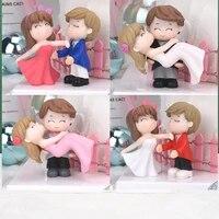 Figurine Miniature de Couple et marie  decoration de bureau  paysage  decor de maison  cadeau de mariage  jardin  Dec