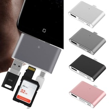 VONETS многофункциональный концентратор Type-C OTG USB кардридер адаптер для CF SD TF карты для MacBook Air Samsung Galaxy Note 8 Huawei