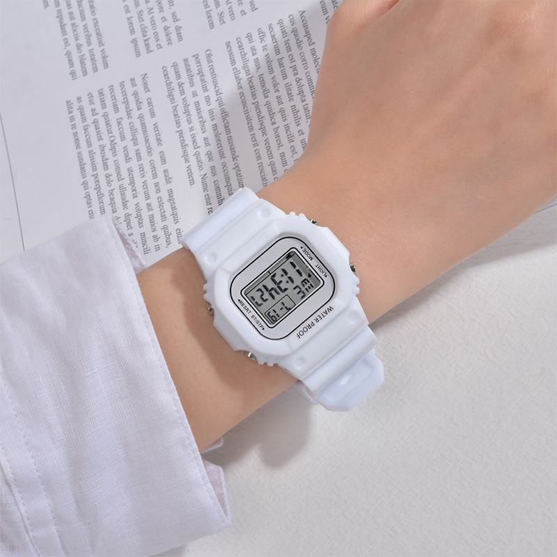 Sports Men Women Watches Casual  Digital Waterproof Watch Lover's Gift Clock Children Kid's Wristwatch Female Clock Reloj mujer enlarge