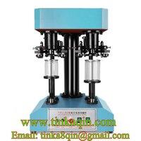 TDFJ-260 double head electric sealing machine Capper Capping machine PET can sealing machine Sealer Locking machine Tin can Milk