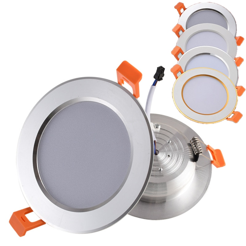 ip65 waterproof led recessed downlight 5w 7w 9w 12w 15w led spot light ceiling lamp home lighting ac 85 265v for bathroom lamp Ultra-Thin LED Recessed Downlight 2-in-1 3W 5W 7W 9W 12W 15W 18W AC100-265V Ceiling Spot Lamp for Bedroom Kitchen Home Decor
