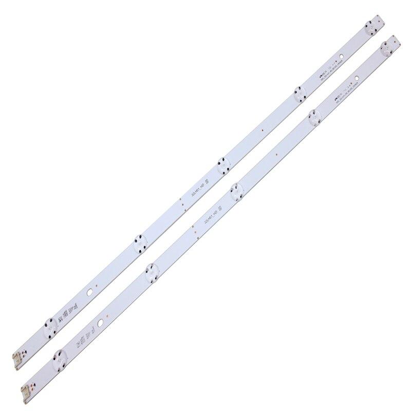 led backlight strip 5 lamp for lg 32tv innotek direct 15 5y 32inch 32lf510b 32lh590u svl320al5 dh lf51 32lh51 hd ssc 32inch hd 2 PCS 5LEDs 590mm LED backlight strip for LG 32LF510B Innotek direct 32inch CSP 32LH510B 32LH51_HD S SSC_32INCH_HD