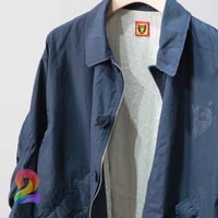 oversize human made jacket men women love logo casual fashion trench coat human made coat