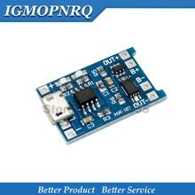 10Pcs USB 5V 1A 18650 TP4056 Lithium-Batterie Ladegerät Modul Lade Board Mit Schutz Dual Funktionen 1A Li-Ion