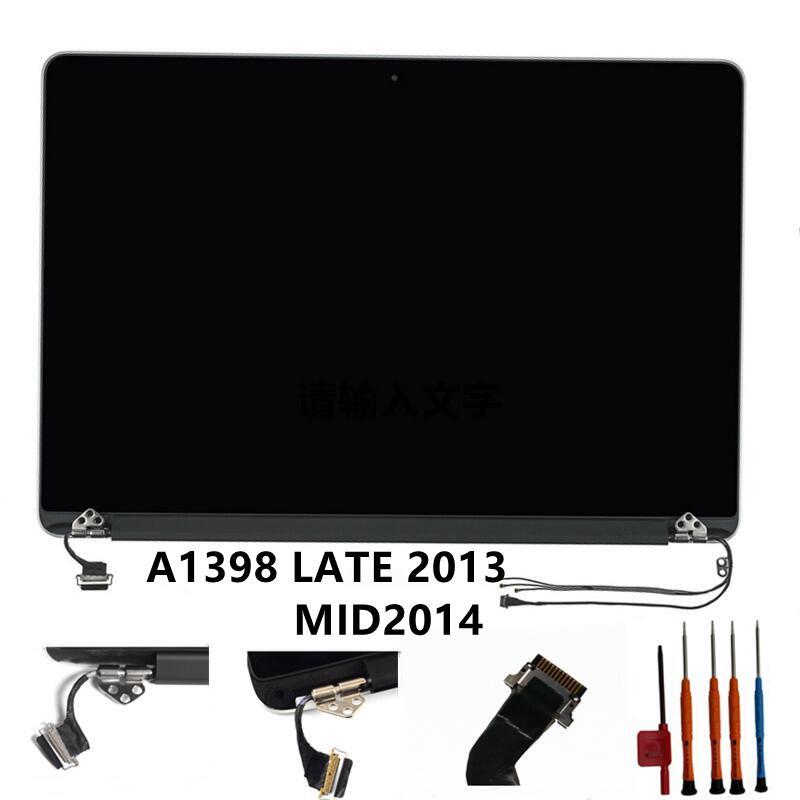 12PIN 661-8310 A1398 أواخر 2013 MID2014 شاشة LCD لماك بوك برو الشبكية A1398 EMC 2674 2745 2876 2881 LCD عرض الجمعية جديد