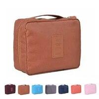 Sac de rangement de voyage etanche 1 pieces  sac a cosmetiques  pochette de rangement organisateur de lavage de maquillage