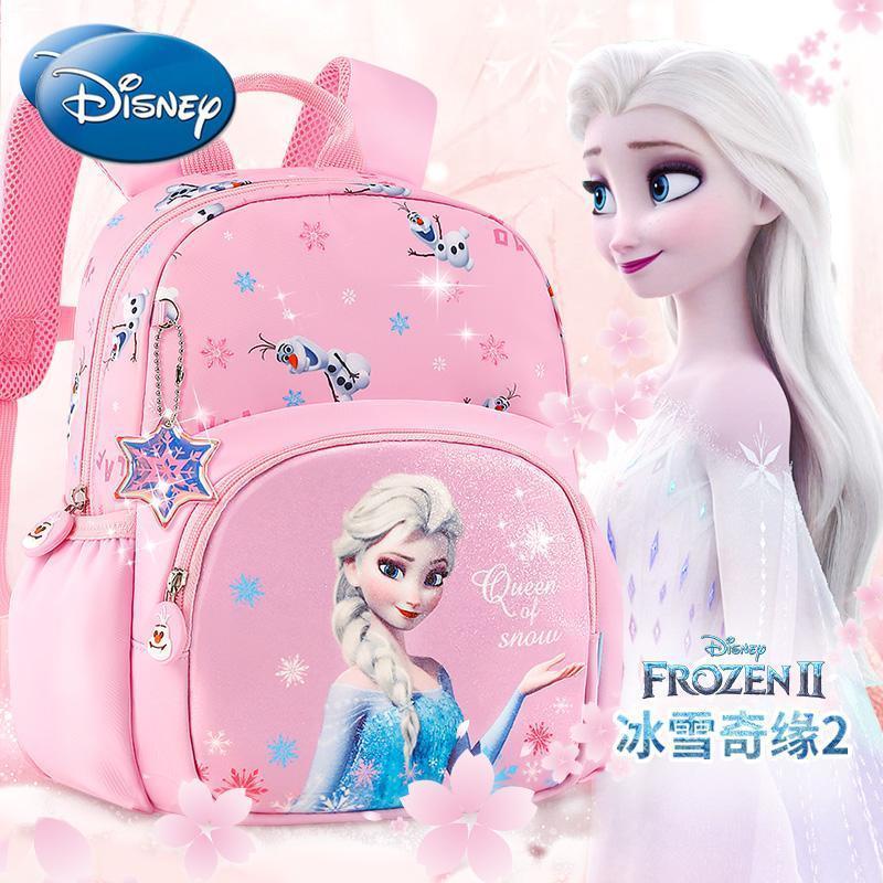 Disney children's kindergarten small school bag large capacity female 3 years old 5 girls cute Frozen Aisha Aisha girl backpack