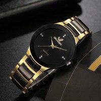 Часы мужские наручные кварцевые из нержавеющей стали, модные повседневные деловые, 2021