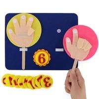montessori teaching aids trees math toys teaching kindergarten manual diy weave cloth early learning education toys