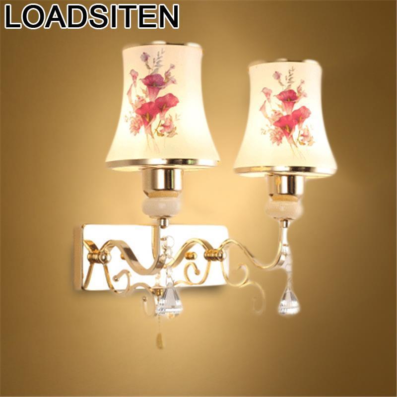 Lámpara Techo Colgante Moderna Kinkiety lámpara Luminaria De Parede De Murale Aplique Luz Pared Luminaria De Pared dormitorio Luz