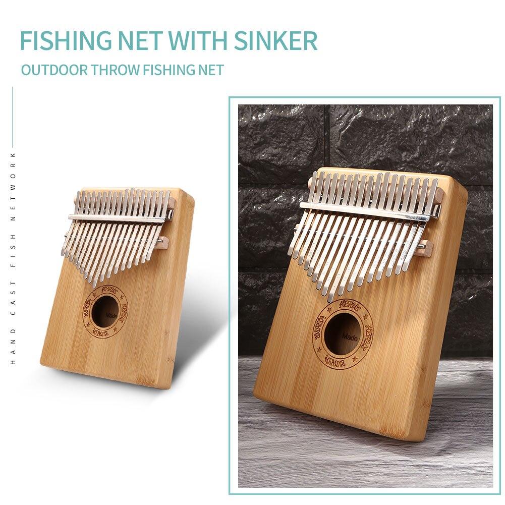 Instrumento Musical Kalimba dedo pulgar Piano bambú 17 teclas africano Sanza Mbira amantes de la música tocando Accesorios
