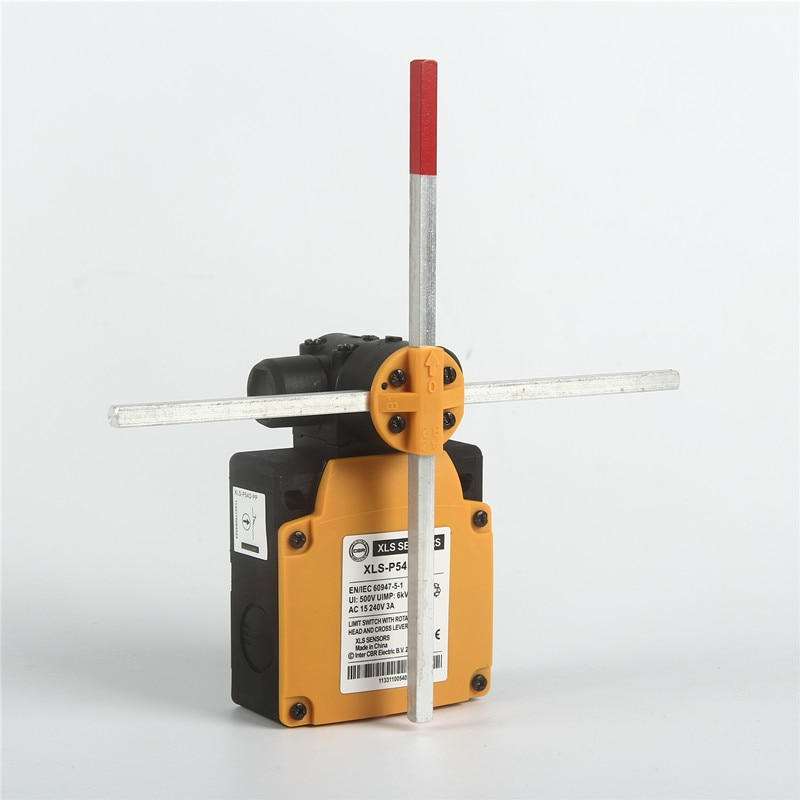 XLS-P54D-PP رافعة المضادة للتصادم عبر الحد التبديل الحد سلامة جهاز 2 سرعات بالبقاء عبر قضبان الدورية موقف رئيس
