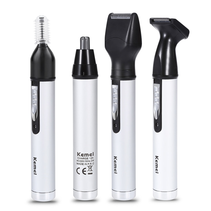 3 in1 Electric Nose Ear Trimmer For Men Shaver Rechargeable Hair Removal Eyebrow Trimer Safety Produ