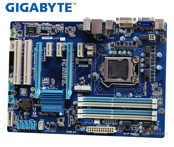 Se Gigabyte GA-B75-D3V Original placa madre LGA 1155 DDR3 32G B75 B75-D3V placa base de escritorio SATA II SATA III Systemboard