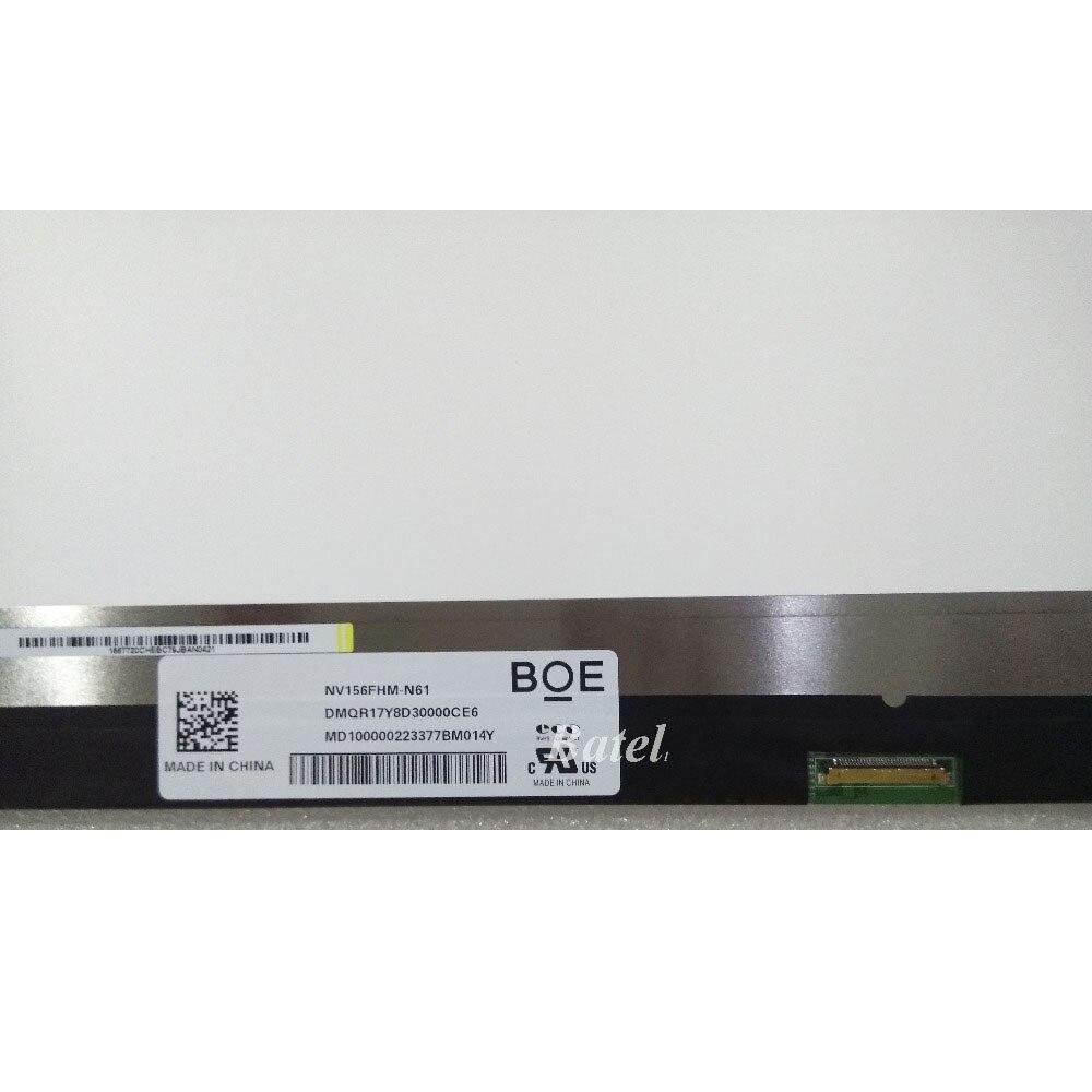 NV156FHM-N61 для BOE экран IPS матовая ЖК Матрица для ноутбука 15,6 72% NTSC FHD 1920X1080 Замена светодиодного дисплея
