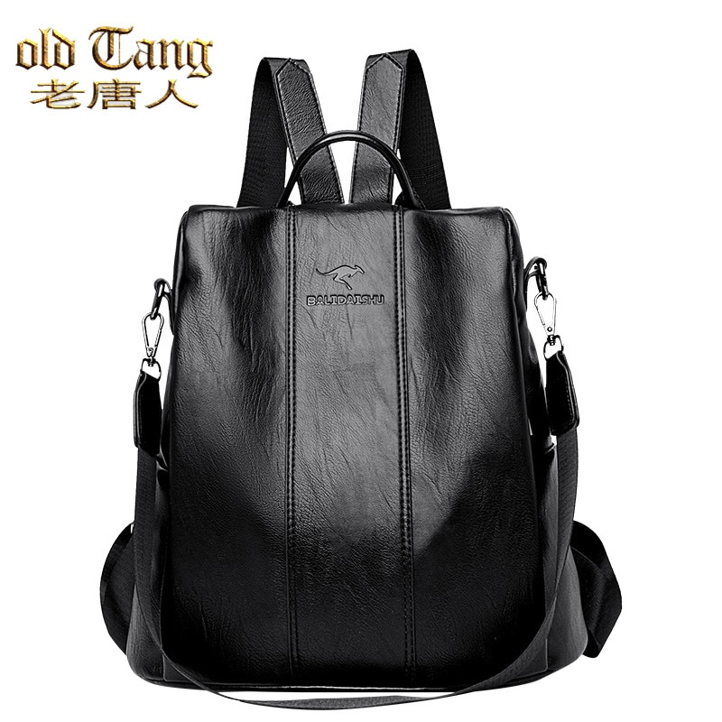 OLD TANG New High Quality Anti Theft Backpack Bags For Women 2020 Fashion Casual Concise Wild Ladies