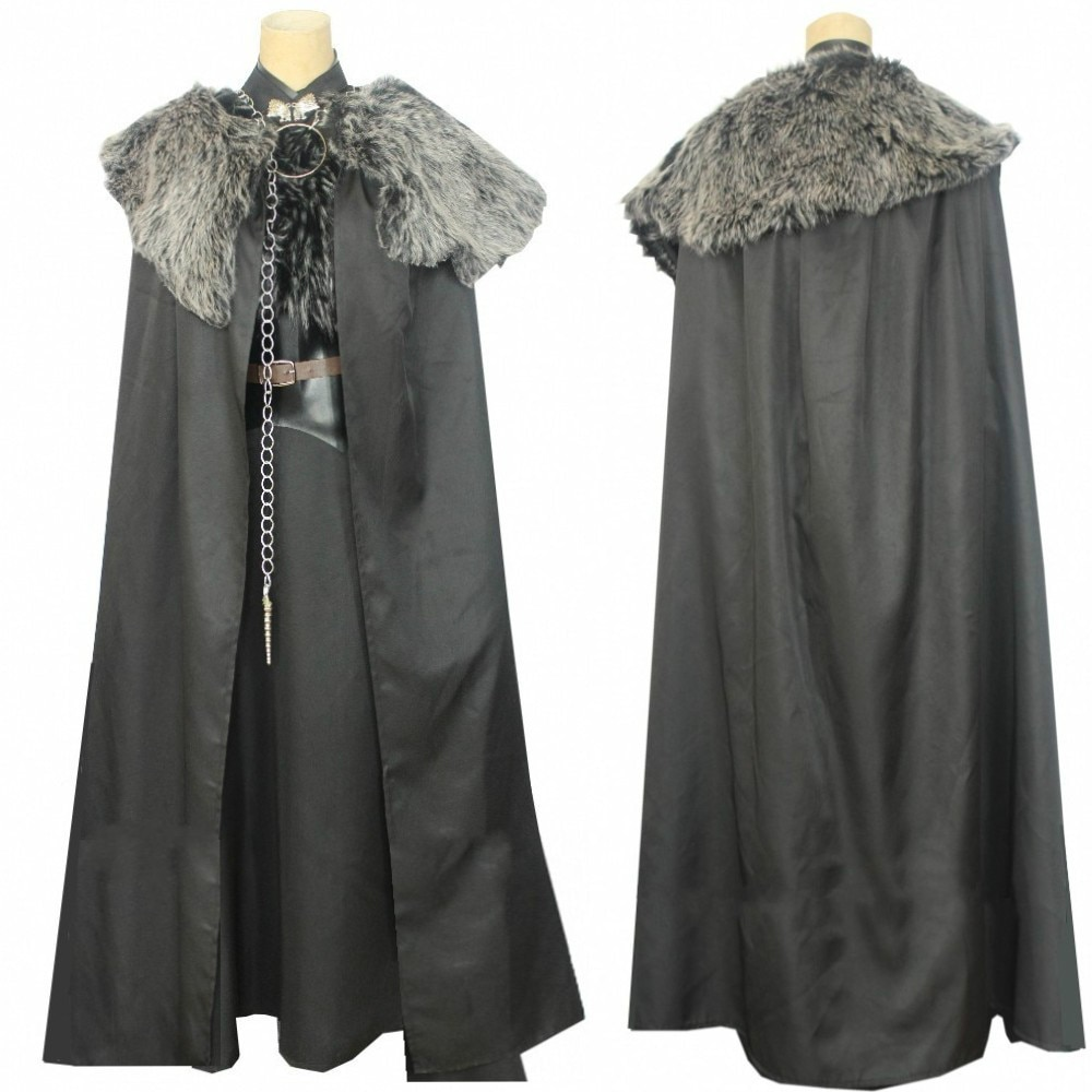 Juego de tronos Sansa Stark Cosplay disfraz Unisex elegantes disfraces de Halloween conjunto completo