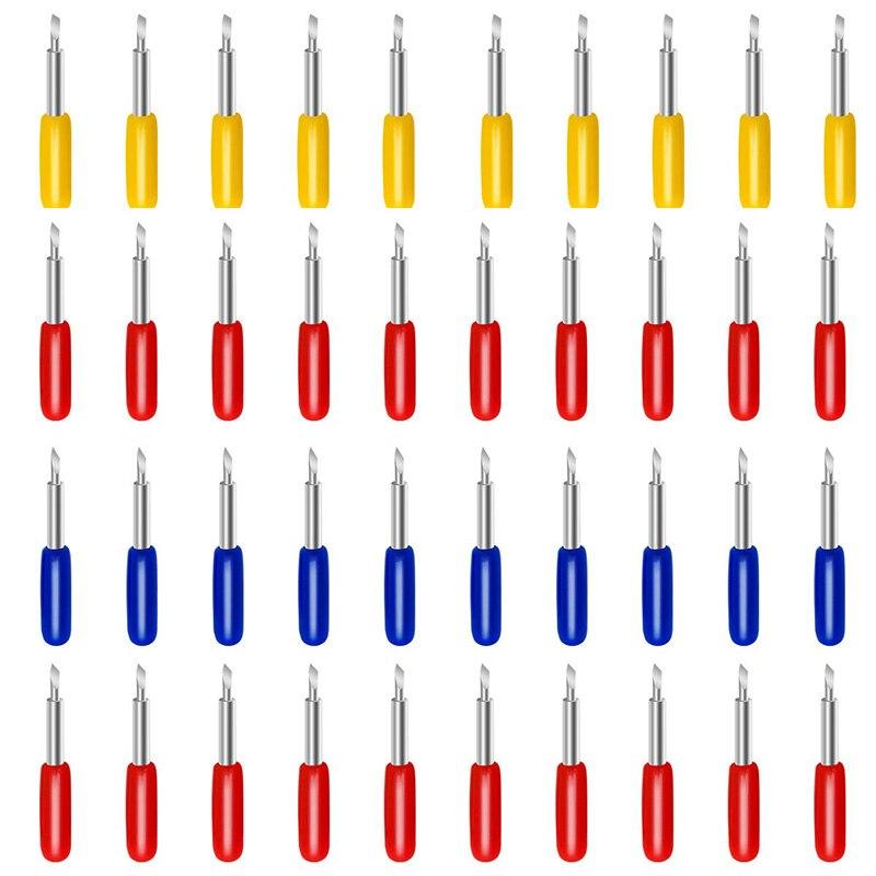 Cuchillas HHO para Cricut Explore Air 2, máquina de corte de repuesto para cuchillas de corte, hoja de Cricut 20P 45 °, reemplazo 10P 30 ° Cricut