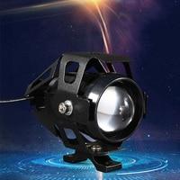 Motorcycle Headlight LED U5 Farol Moto Waterproof For honda nc 750x nsr cbr 1100xx pcx 2019 cbf 1000 shadow 600 cbr f4 Motocross