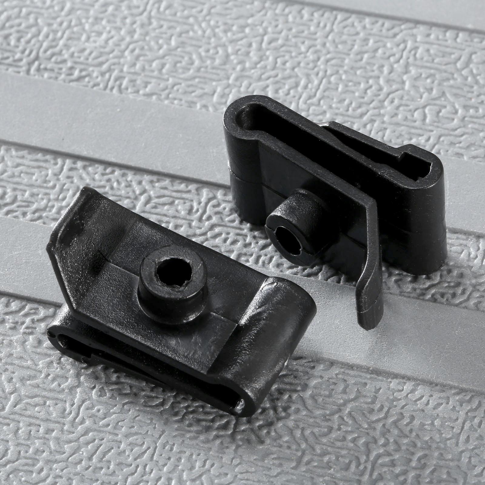 Clips de sujeción de plástico para coche, clip de apoyo para capó,...