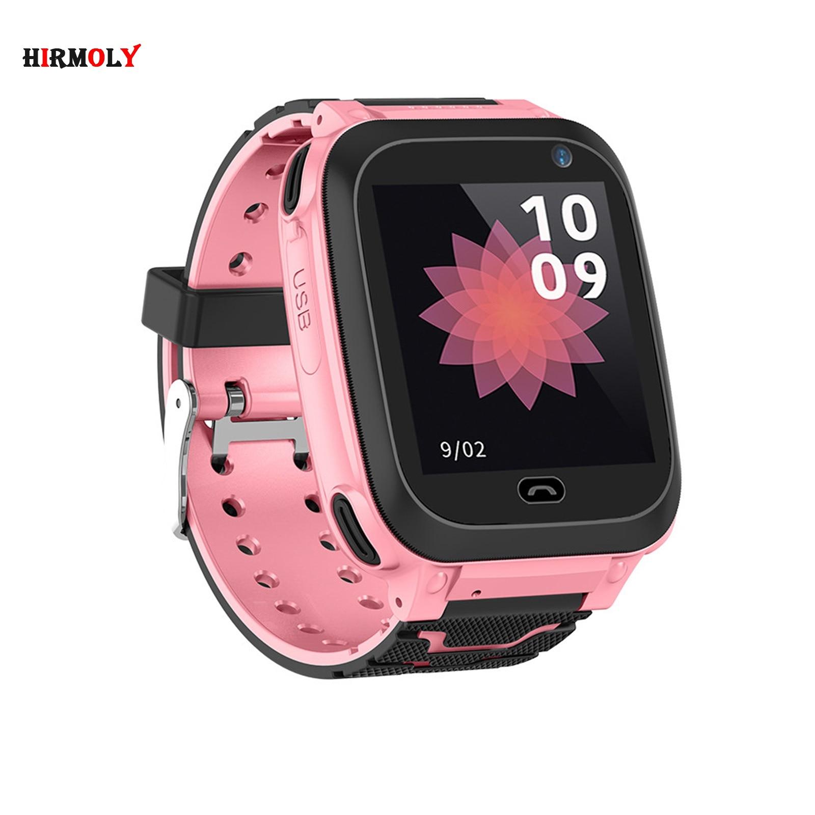 DS38 1.44inch  Kid Smart Watch GPS IP67 Waterproof Fitness Watch SOS Smart Watch Kids Video call Clock Baby Watch With Camera
