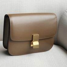 حقيبة مضيفة جلد طبيعي توفو حقيبة فاخرة حقيبة يد ذات تصميم على الموضة العلامة التجارية الشهيرة عادية موضة حقائب كتف واحدة للنساء 2020