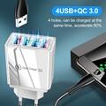 Huawei Mate 30 Tablet पोर्टेबल वॉल चार्जर फास्ट चार्जिंग के लिए EU / US प्लग फास्ट चार्जिंग फोन अडैप्टर के साथ USB 3.0 चार्जर