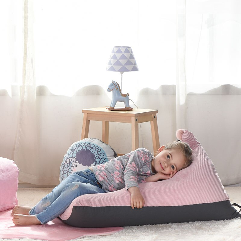 Babyinner Lazy Sofas Kids Chairs Detachable Bean Bags Sailboat Shape Lounger Seat Pouf Puff Couch Eco-friendly Tatami Seat enlarge