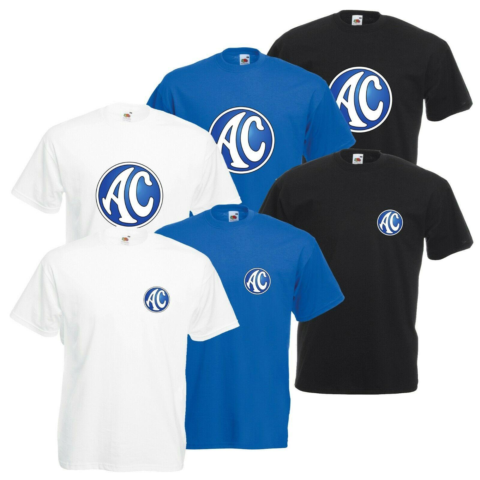 Camiseta de Ac Cars Cobra para hombre y mujer, ropa informal clásica...