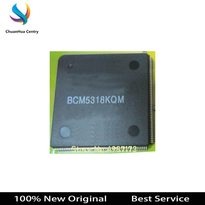 1 pçs bcm5318kqm qfp208 100% novo original em estoque bcm5318kqm maior desconto para a quantidade mais