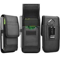 Мобильный Телефон поясная сумка для мужчин и женщин, Маленькая нейлоновая кобура для сотового телефона, забавные кошельки с ремнем-петлей, ...