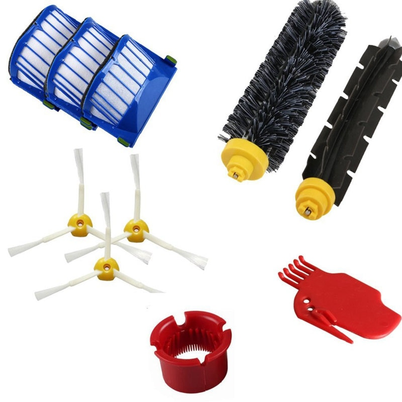 10 peças de reposição para irobot roomba 600 610 620 series 650 aspirador pó