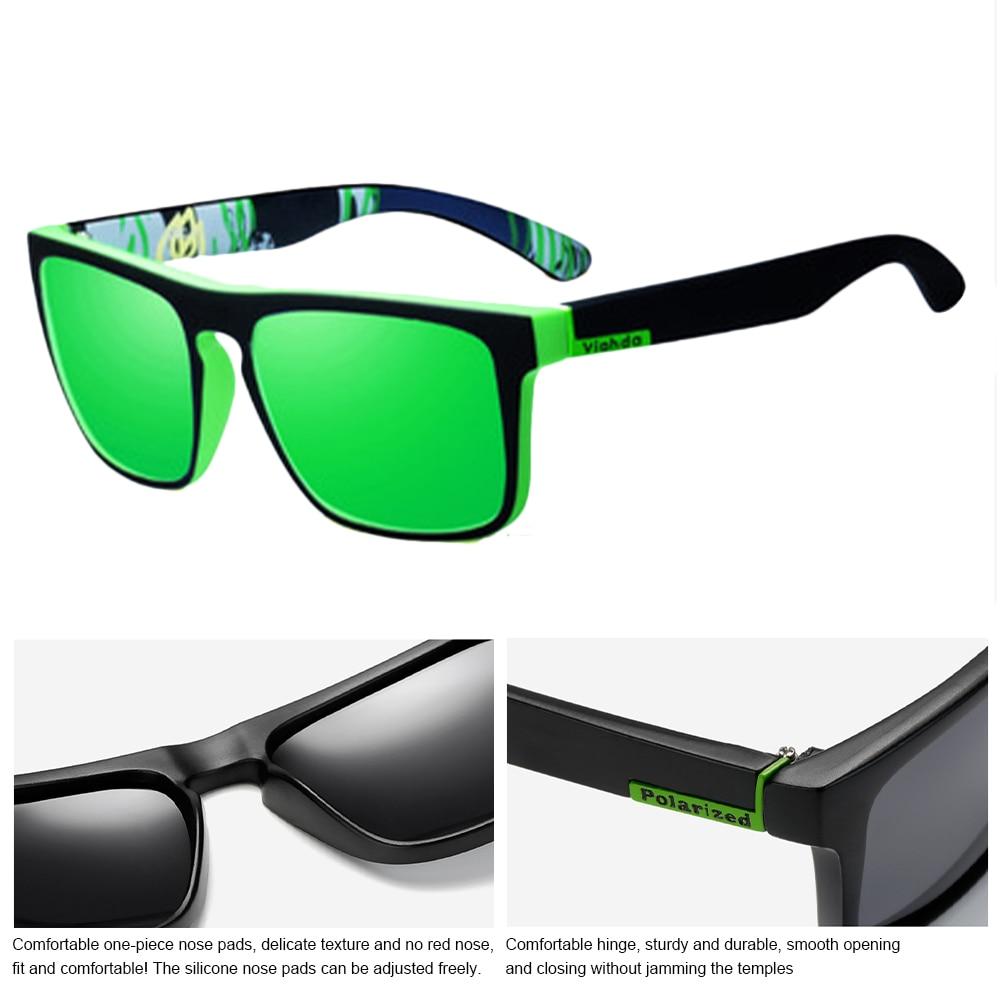 2021 Polarized Sunglasses Men's Driving Shades Male Sun Glasses Camping Hiking Fishing Classic Sun Glasses UV400 Eyewear enlarge