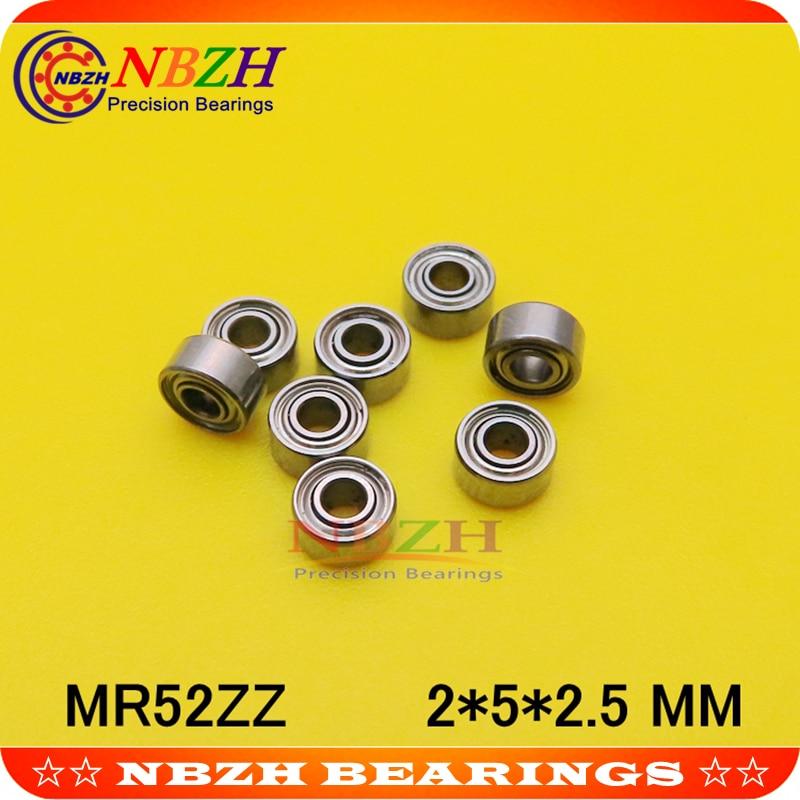 MR52 MR52ZZ MR52RS SMR52ZZ MR52-2Z MR52Z MR52-2RS ZZ RS RZ 2RZ L-520ZZ 638/2X2 de bolas de ranura profunda Bearings2 * 5*2,5mm de alta calidad
