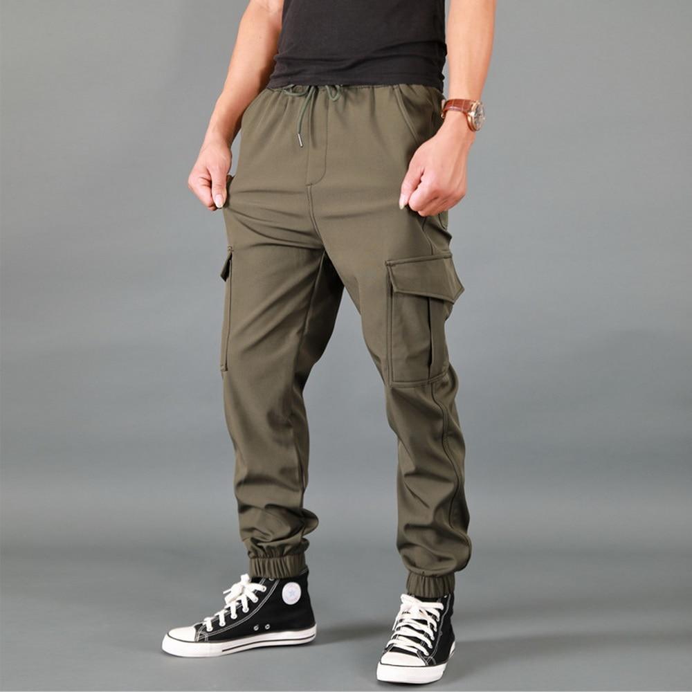 Брюки FALIZA мужские свободные, спортивные штаны в стиле милитари, Джоггеры со множеством карманов, повседневные спортивные штаны-карго, PA58, ве...