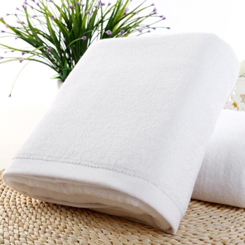 Dicken saugfähigen handtuch baumwolle weiß gesicht handtuch sport bad hand handtuch bad home hotel hochzeit