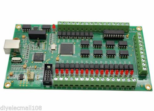 Tarjeta USB CNC de 4 ejes Mach3 Mach 200KHz Placa de adaptación Soporte de interfaz Win 7