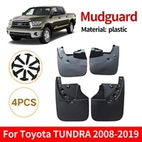 set molded mud flaps mudflaps splash guards front rear mud flap mudguards fender car accessories for toyota tundra 2008 2019