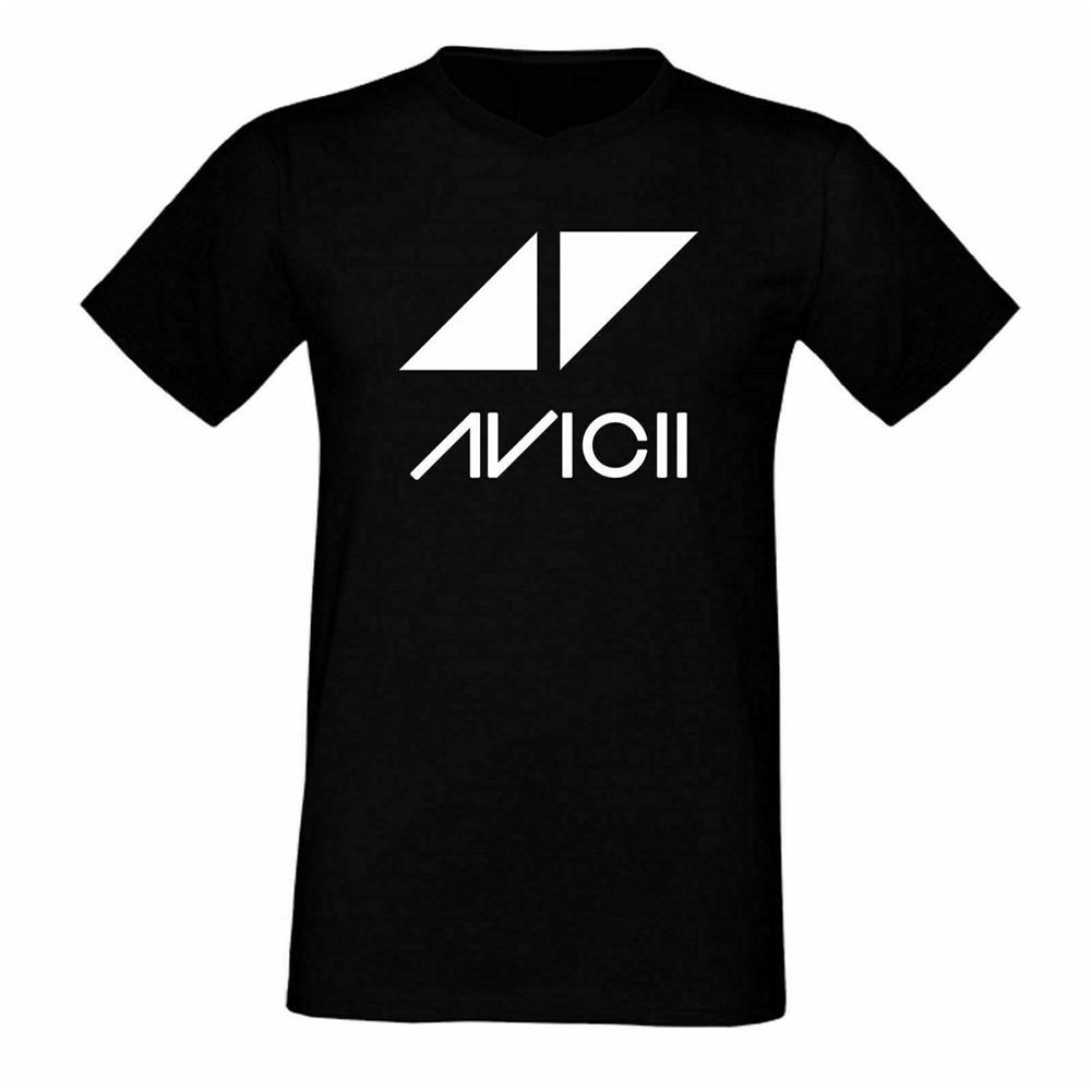 Camiseta Avicii de música Dj Edm Tee Legend Dance Festival hombres-mujeres S-3Xl negro para jóvenes de mediana edad