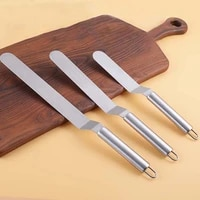 cake decorating tools stainless steel baking pastry tools portable cream spatula cake butter accessories kitchen gadgets