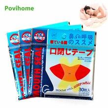 30Pcs Anti Snoring Mouth Tape Sleep Strip Better Nose Breathing Improve Nighttime Sleeping Less Mout