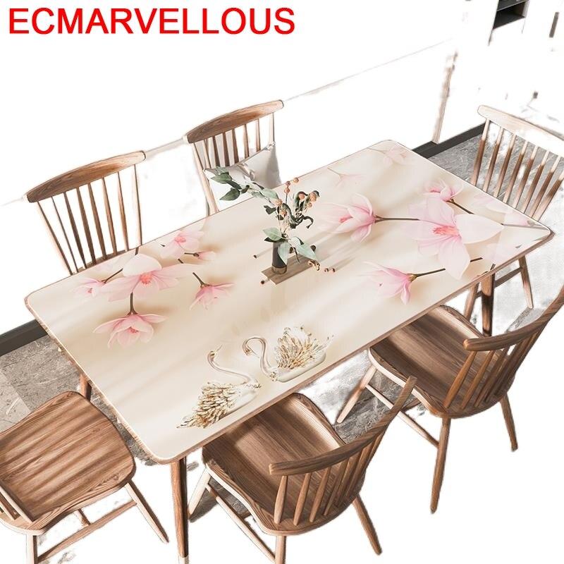 مفرش طاولة مستطيل الشكل ، عنصر منزلي أنيق ، غطاء مفرش طاولة PVC