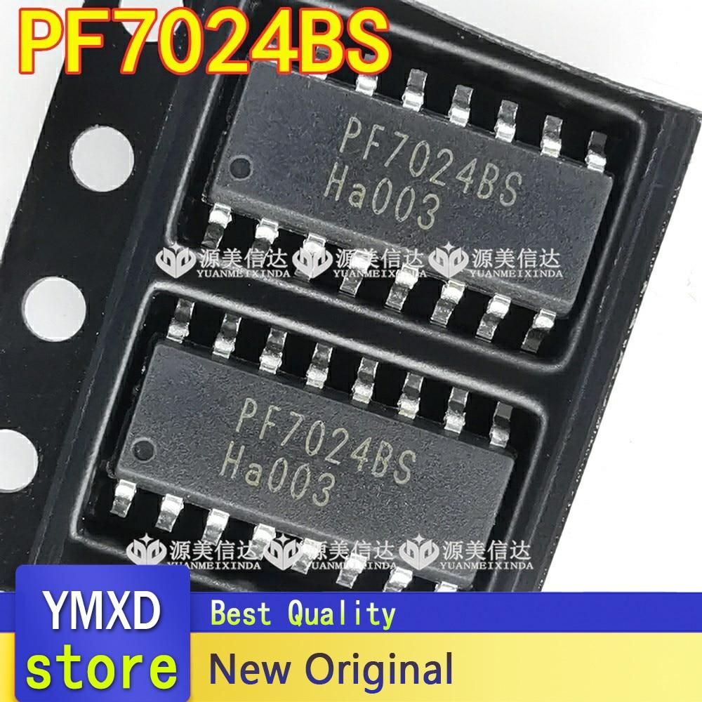 """5 pçs/lote novo original importado pf7024bs novo lcd chip de gerenciamento de energia sop-16 """"um-pare"""" estilo de trabalho com um único pé"""