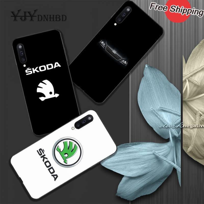 Carcasa negra de TPU suave para coche Skoda YJYDNHBD para Samsung galaxy A01 A10 A31 A51 A71 A91 A10S A30S m20 coque
