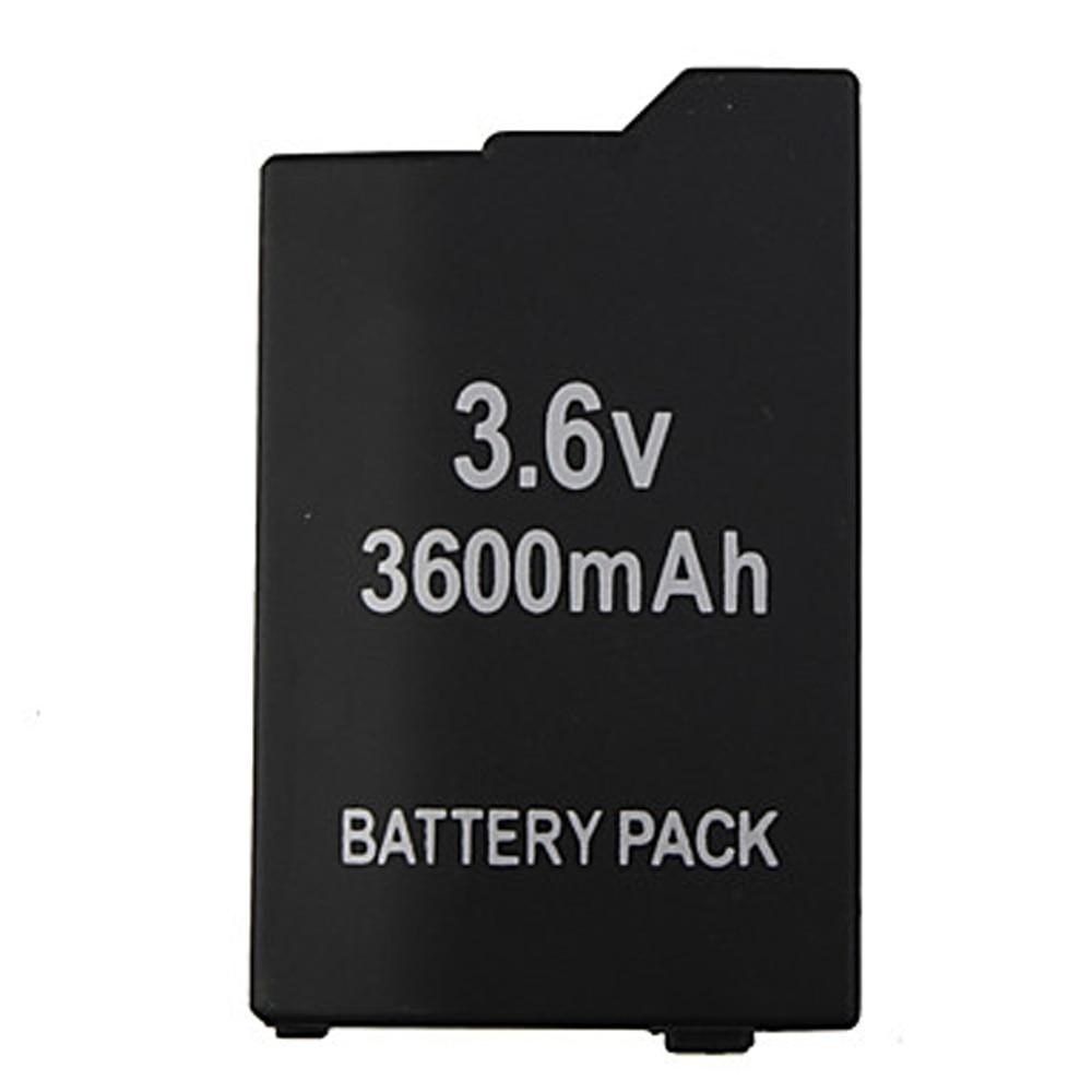 10 قطعة 3600mAh 3.6V بطارية قابلة للشحن حزمة لسوني بلاي ستيشن المحمولة PSP 2000 PSP 3000 وحدة التحكم سليم استبدال