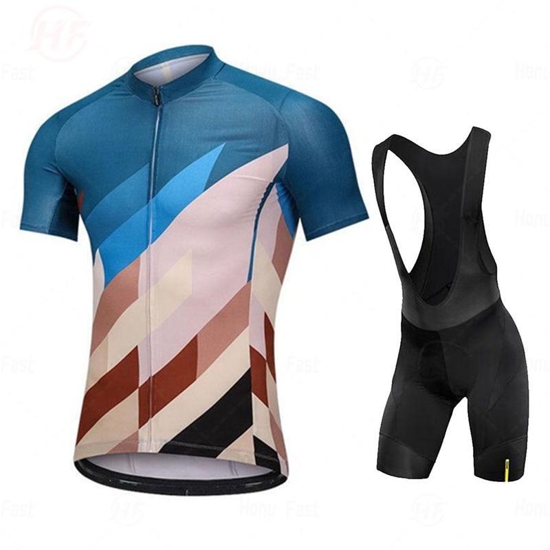 Go Pro Mavic Cycling Jersey Summer Team Cycling Set Bib Shorts Bike Clothing Ropa Ciclismo Cycling Clothing Sports Suit Skinsuit